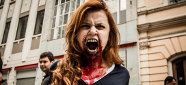 Zombie Cheerleader / Zombie Walk 2012