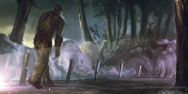 According to an article from the CC Headliner newspaper, written by Sam Uptegrove, it seems Bigfoot was spotted making family rounds this past Christmas in the Phillipsburg, Missouri area.