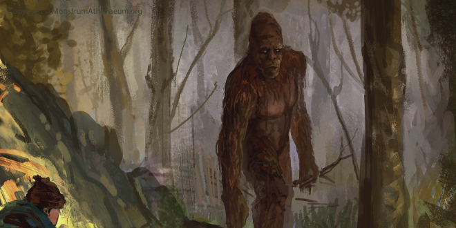 While most Sasquatch sightings involve a brief glimpse of a creature, this story's unique because the man reports to have been pursued while riding his ATV.