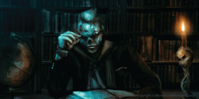 Monstrum Athenaeum - Tearing open the cryptid world of werewolves, vampires and zombies.