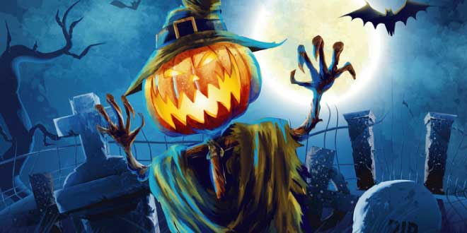 Halloween's just around the corner and what better way to celebrate Samhain then to scare the snot out of the little ones with really scary stories.